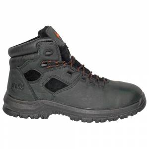 HOSS Boots Lorne 6 Inch Puncture Resistant EH Work Boots  - Black - Men - Size: 11.5 2E