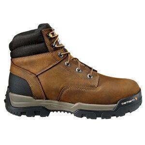 Carhartt Ground Force 6 Inch Brown Waterproof Composite Toe Work Boot  - Brown - Men - Size: 9 D