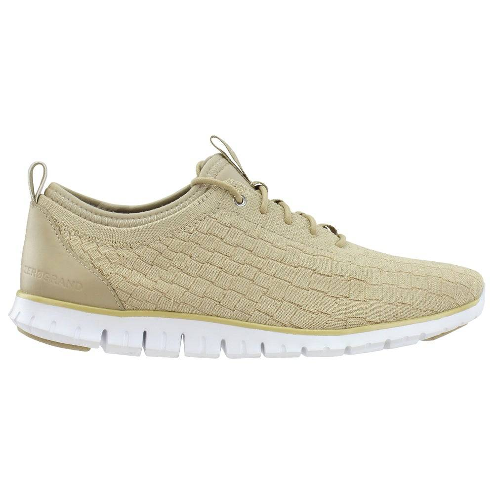 Cole Haan ZEROGRAND Distance Lace Up Sneakers  - Gold - Women - Size: 9.5 B
