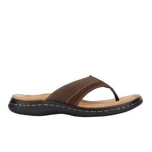Dockers Laguna Flip Flops  - Brown - Men - Size: 11 D