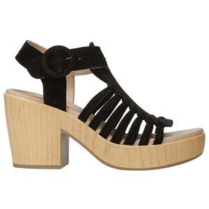 Dr. Scholl's Beach Front Block Heel Pumps  - Black - Women - Size: 8 B