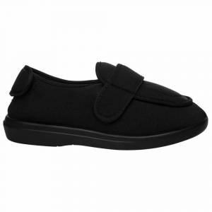 Propet Cronus Slippers  - Black - Women - Size: 7.5 2E
