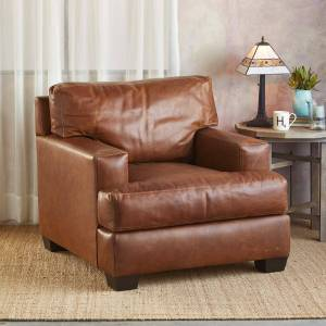 Cisco Systems Cormac Leather Club Chair  - female