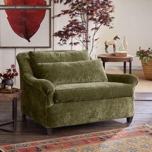 Sundance Catalog Dylan Velvet Chair-&-a-half  - female