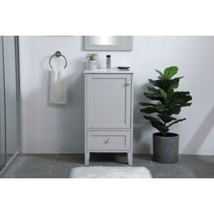 "Ashley Furniture Sommerville 18"" Single Bathroom Vanity, Gray"