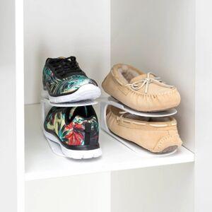 Ashley Furniture Home Basics Plastic Shoe Space Saver, White