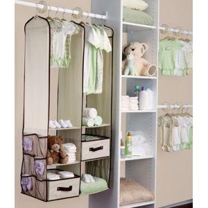 Ashley Furniture Delta Children 24-Piece Nursery Storage Set, Beige