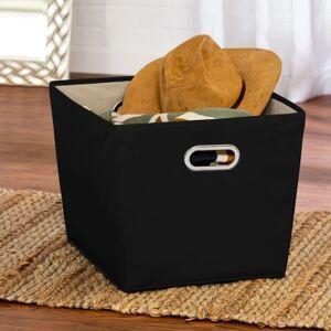Ashley Furniture Honey-Can-Do Large Storage Bin, Black