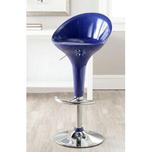 Ashley Furniture Neo Swivel Bar Stool, Navy Blue