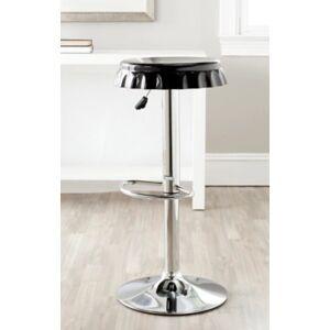 Ashley Furniture Bottle Cap Swivel Bar Stool, Black