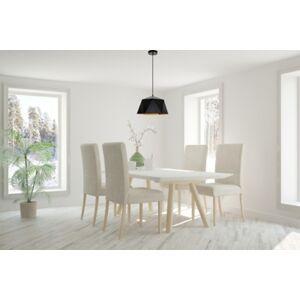 "Ashley Furniture Living District Arden Collection Pendant D15.0"" H9.6 Lt:1 Black And Gold Finish, Black/Gold"