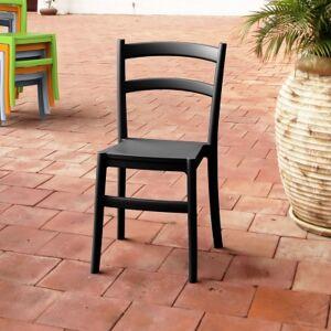 Ashley Furniture Siesta Outdoor Tiffany Dining Chair Black (Set of 2), Black