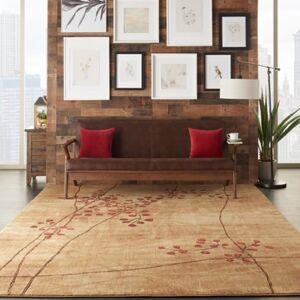 Ashley Furniture Nourison Somerset ST74 Brown 8'x11' Rug, Latte