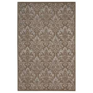 Ashley Furniture Home Accents Damask 5' x 7' Rug, Gray