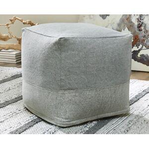 Ashley Furniture Mabyn Pouf, Gray