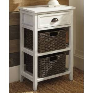 Ashley Furniture Oslember Accent Table, White