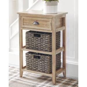 Ashley Furniture Oslember Accent Table, Light Brown