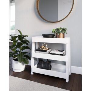 Ashley Furniture Blariden Shelf Accent Table, White