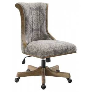 Ashley Furniture Linon Ella Office Chair, Gray