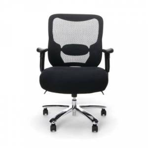 Ashley Furniture OFM Essentials Collection ESS-200 Big & Tall Swivel Mesh Office Chair, Black