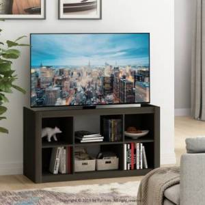 Ashley Furniture Furinno Fowler Multipurpose TV Stand Bookshelves, Espresso