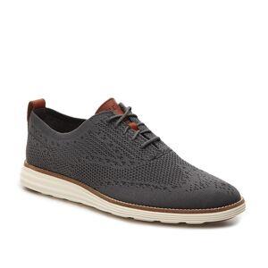 Cole Haan Original Grand StitchLite Wingtip Oxford   Men's   Grey   Size 10.5   Oxfords   Wingtip