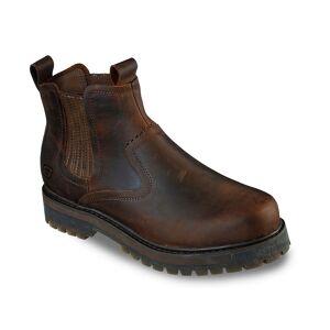 Skechers Alley Chelsea Boot   Men's   Dark Brown   Size 11.5   Boots   Chelsea