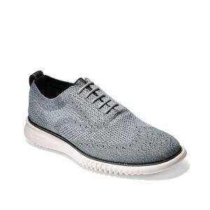 Cole Haan 2.ZeroGrand StitchLite Wingtip Oxford   Men's   Grey   Size 10.5   Oxfords   Wingtip