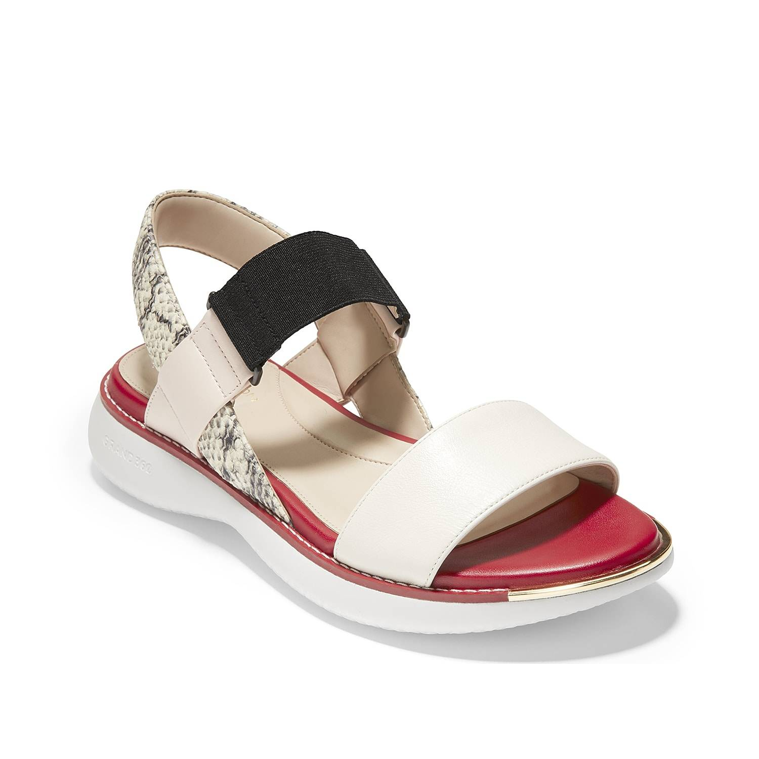 Cole Haan Grand Ambition Sandal   Women's   Off White   Size 10   Sandals   Slingback