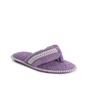 Muk Luks Darlene Slipper   Women's   Purple   Size L