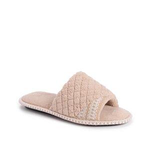 Muk Luks Sally Slipper   Women's   Taupe   Size S