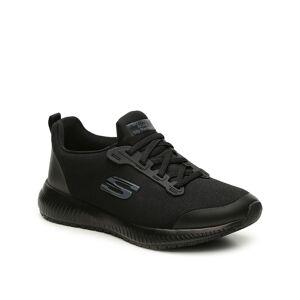 Skechers Relaxed Fit Squad Work Slip-On Sneaker - Women's - Black - Size 6 - Slip-On