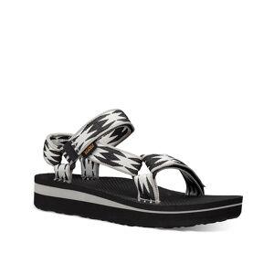 Teva Midform Universal Platform Sandal - Women's - Black/White