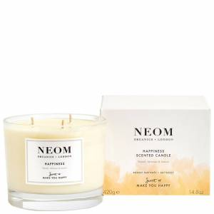 Neom Organics London - Scent To Make You Happy Happiness Scented Candle (3 Wicks) 420g  for Women