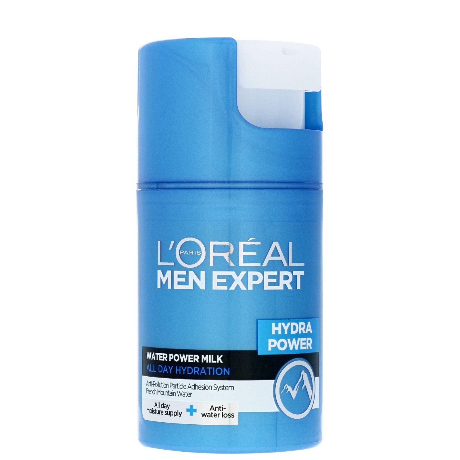 L'Oréal Paris - Men Expert Hydra Power: Water Power Milk All Day Hydration 50ml