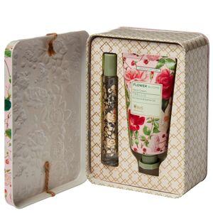 RHS - Flower Blooms Trellis Perfume Gel & Hand Cream Set  for Women