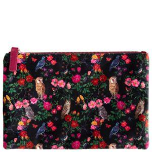 Vintage & Co - Nathalie Lete Forest Folk Large Velvet Clutch Bag  for Women