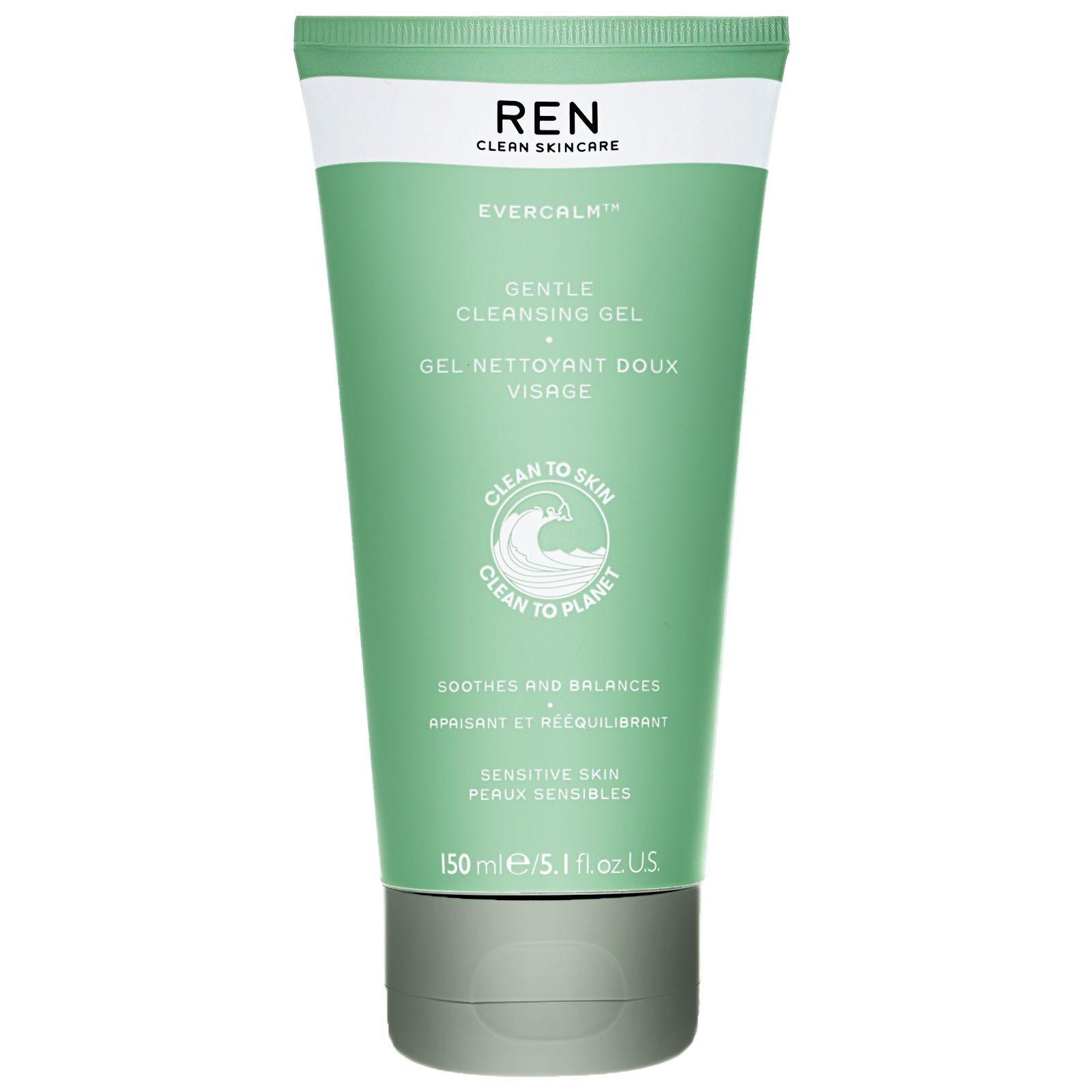 REN Clean Skincare - Face Evercalm Gentle Cleansing Gel 150ml / 5.1 fl.oz.  for Women