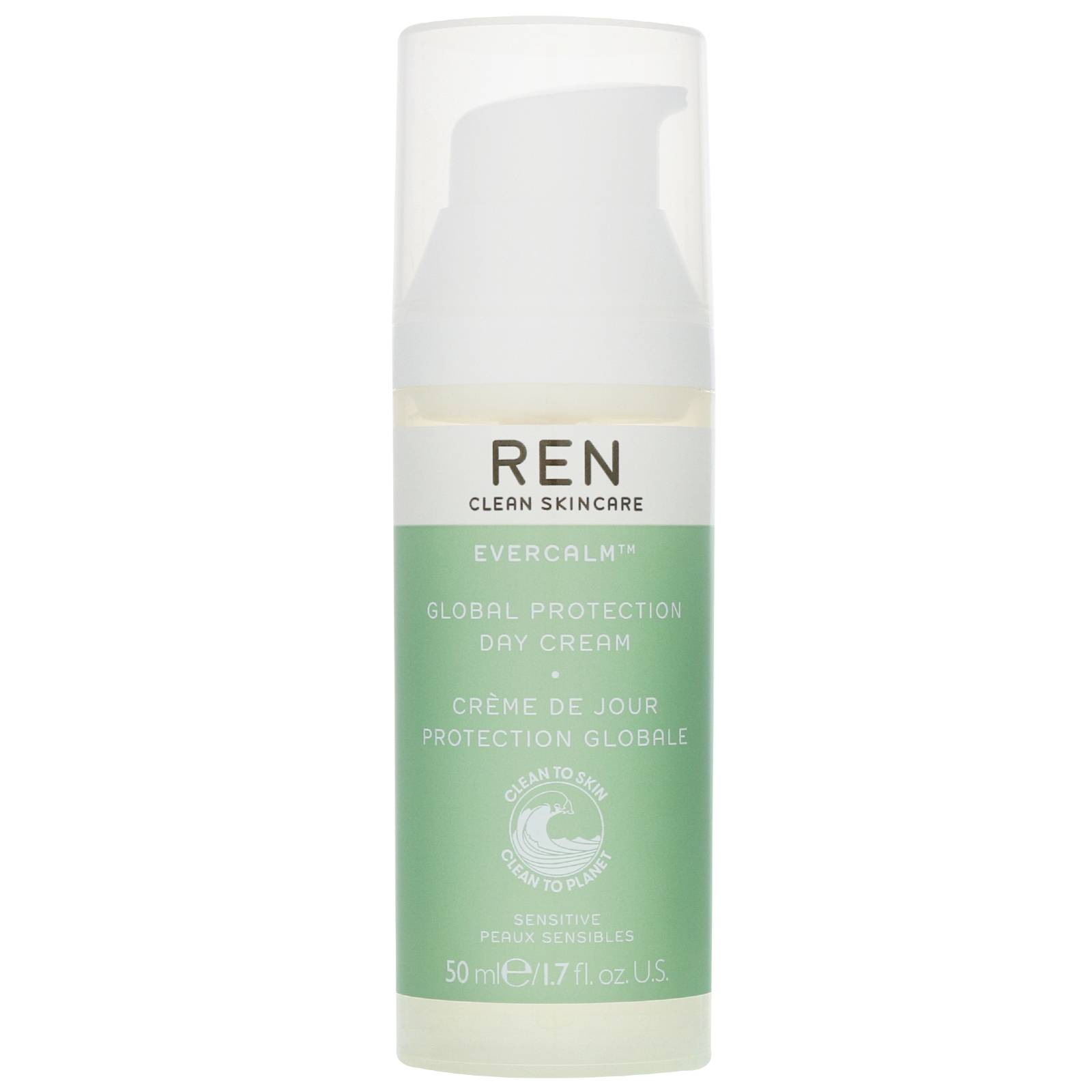 REN Clean Skincare - Face Evercalm Global Protection Day Cream 50ml / 1.7 fl.oz.  for Women