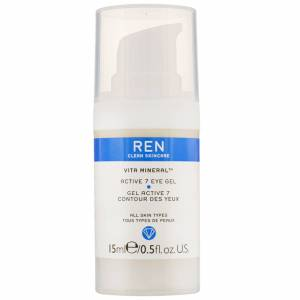 REN Clean Skincare - Face Vita Mineral Active 7 Eye Gel 15ml / 0.5 fl.oz.  for Women
