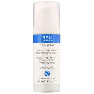 REN Clean Skincare - Face Vita Mineral Daily Supplement Moisturising Cream 50ml / 1.7 fl.oz.  for Women