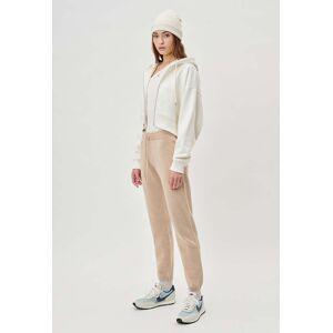 John Elliott - Women's Two Tone Cashmere Sweatpants / Camel X Almond