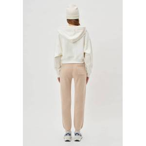 John Elliott - Women's Two Tone Cashmere Sweatpants / Camel X Almond (Two Tone Cashmere Sweatpants / Camel X Almond / 2 / Medium)