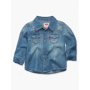 Levi's 12-24M Barstow Western Shirt Chambray - Boys XXL6  - Memphis - Size: XXL6
