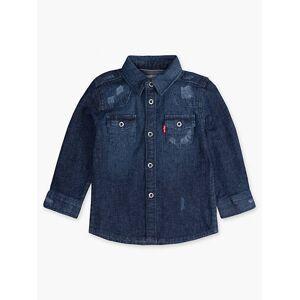 Levi's 12-24M Barstow Western Shirt Chambray - Boys XXL6  - Knoxville - Size: XXL6