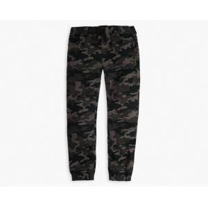 Levi's Twill Jogger Big Boys Pants 8-20 XXL6  - Green Camo - Size: XXL6