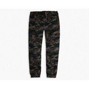 Levi's Twill Jogger Big Boys Pants 8-20 XXL16  - Green Camo - Size: XXL16