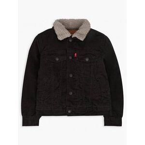 Levi's Boys 4-7x Sherpa Trucker Jacket 6  - Graphite - Size: 6