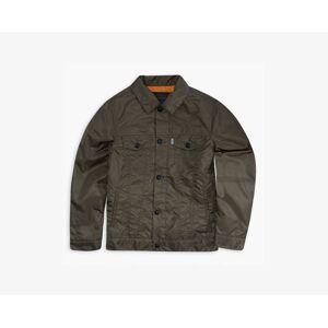 Levi's Boys Nylon Trucker Jacket XXL6  - Dark Ivy - Size: XXL6
