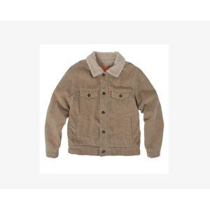 Levi's Boys 4-7x Sherpa Trucker Jacket XXL6  - Surplus Khaki - Size: XXL6